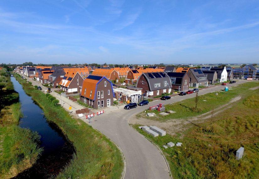 Nieuwe woonwijk Willem Alexanderhof Julianadorp